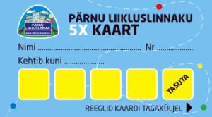 5x kaart